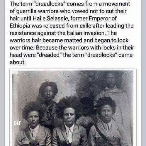 Dreadlocks History – Melanated Scholars