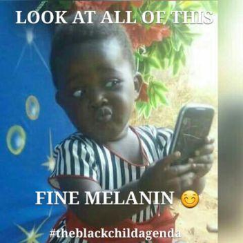 Melanin Fine