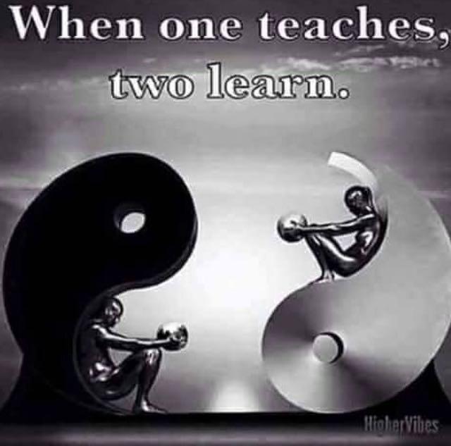 When one teaches, 2 learn